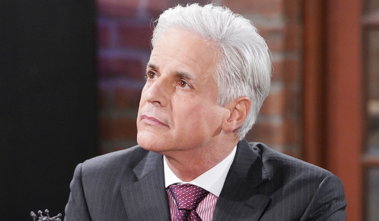 """Christian LeBlanc michael """"The Young and the Restless"""" Set CBS television CityLos Angeles02/19/21© Howard Wise/jpistudios.com310-657-9661Episode # 12075U.S. Airdate 03/29/21"""