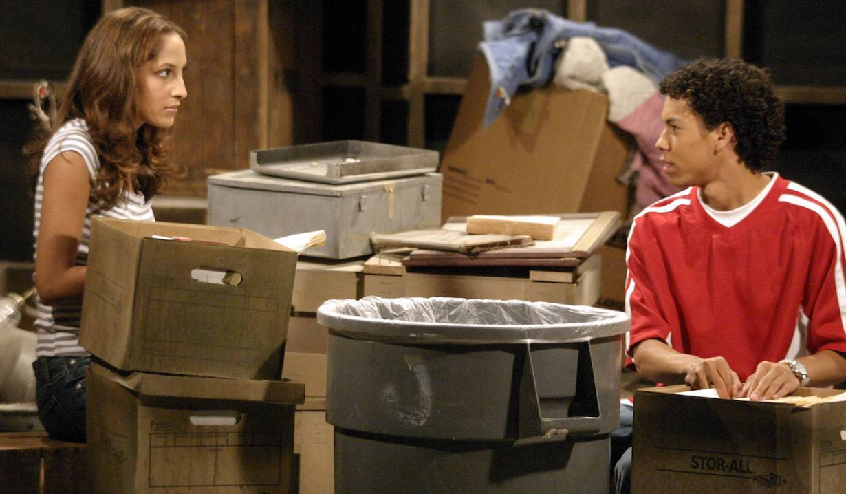 """christel Khalil and Bryton""""The Young and the Restless"""" SetCBS Television City5/14/04©Brian Lowe/JPI310-657-9661Episode# 7906"""