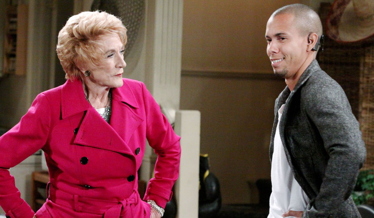 """Jeanne Cooper, Bryton James """"The Young and the Restless"""" devon katherine ps"""