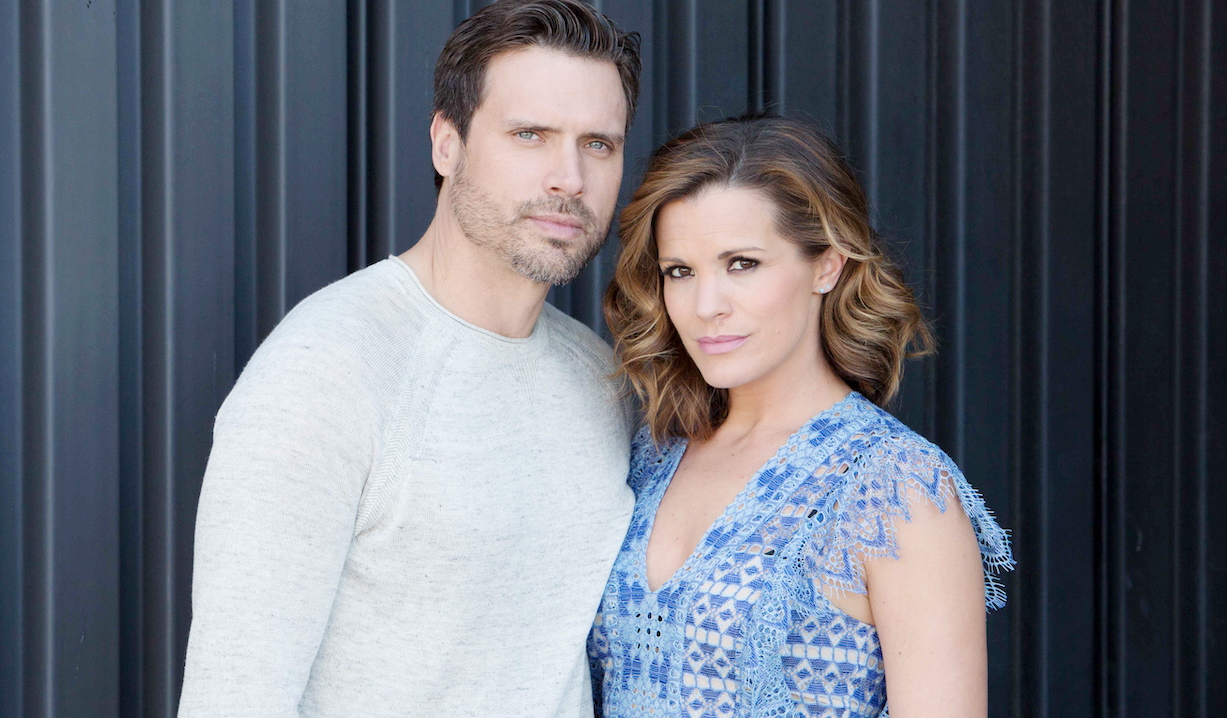 """Melissa Claire Egan, Joshua Morrow """"The Young and the Restless"""" nick chelsea hw"""