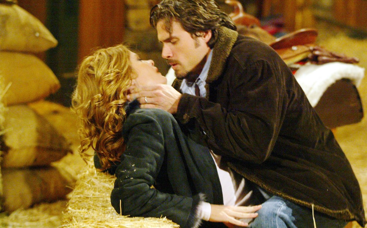 """Michelle Stafford, Joshua Morrow """"The Young and the Restless"""" nick phyllis barn affair am"""
