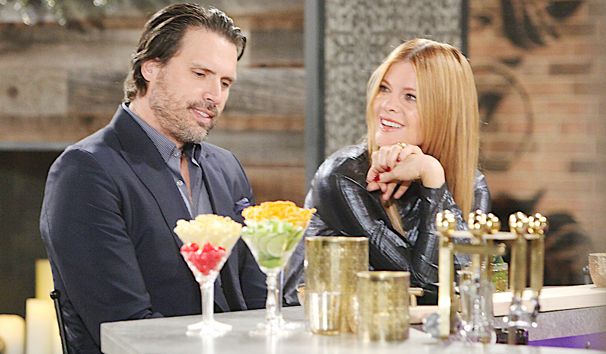 """Michelle Stafford, Joshua Morrow """"The Young and the Restless"""" nick phyllis"""