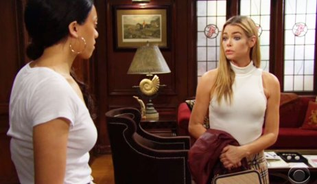 zoe confront shauna about cater bb
