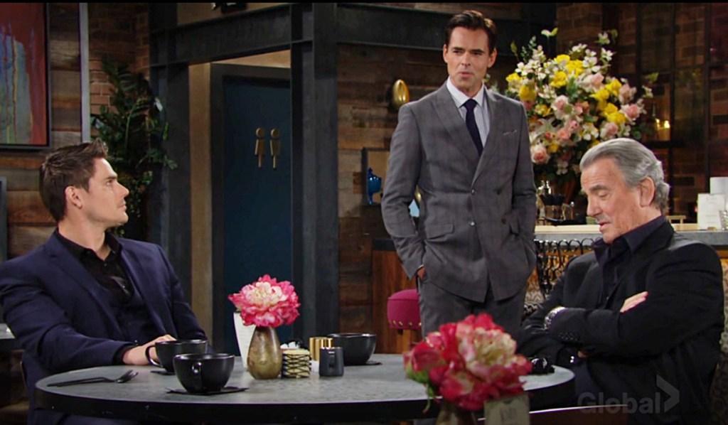 Adam, Billy, Victor address Ashland rumor Y&R