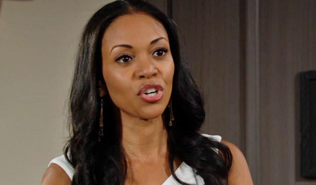 Amanda confronts Imani Y&R