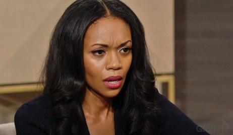 Amanda stunned Y&R