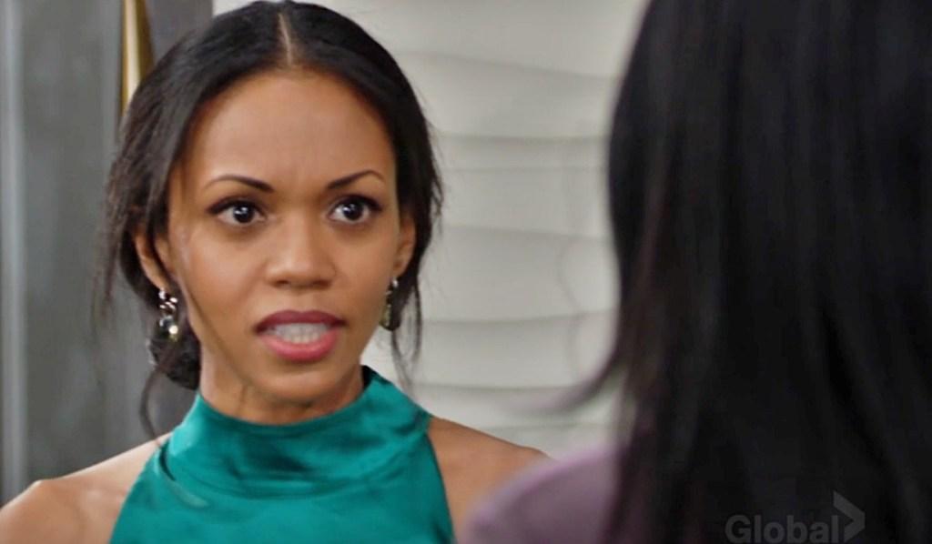 Amanda get truth Imani Y&R