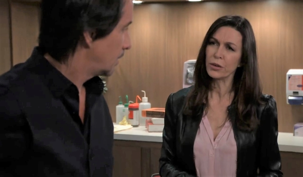 Finn and Anna talk Peter disappearing at General Hospital
