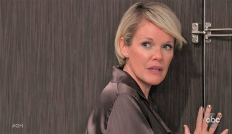 Ava worries about Ryan at Metro Court General Hospital