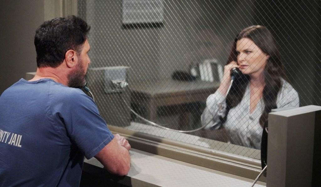 Bill, Katie jail visit B&B