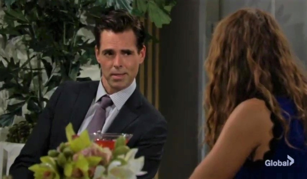 Billy and Lily discuss Victoria at Grand Phoenix Y&R