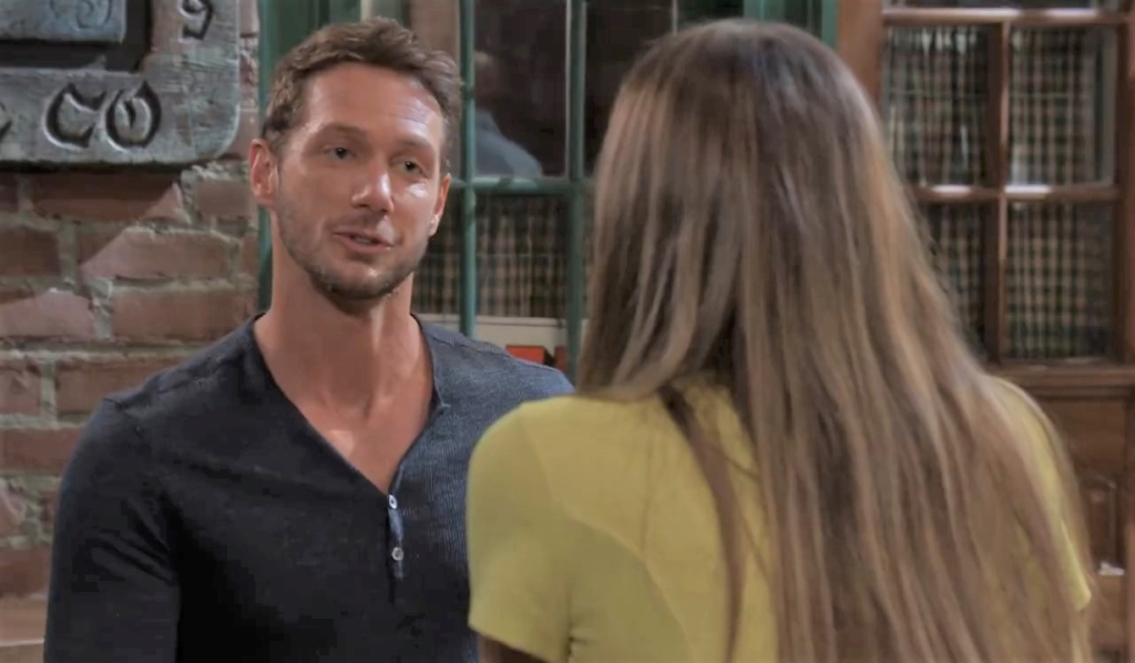 Brand and Sasha have a date at Kelly's General Hospital