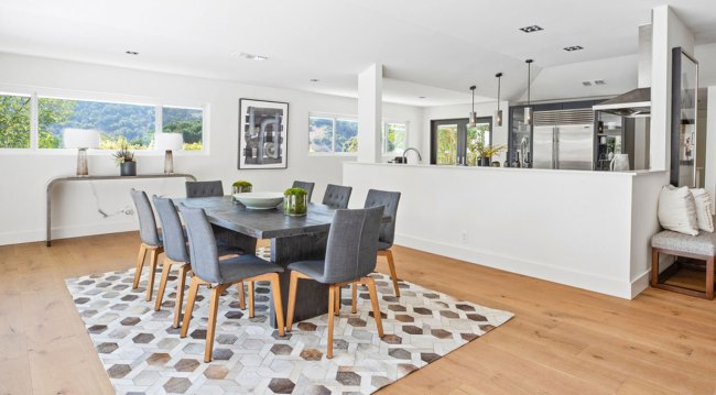 Chrishell Stause's home kitchen and dining days
