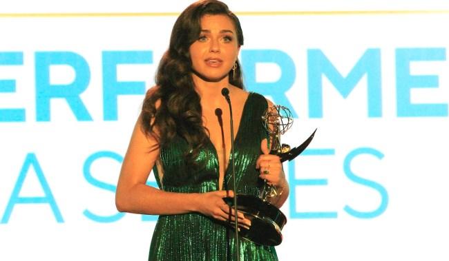 BURBANK - JUN 12: Victoria Konefal at the 48th Daytime Emmy Awards at the ATI studios on June 12, 2021in Burbank, California