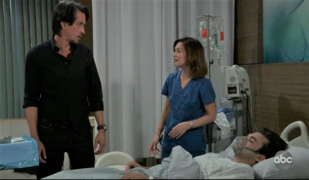 Finn and Liz give Chase antidote at General Hospital