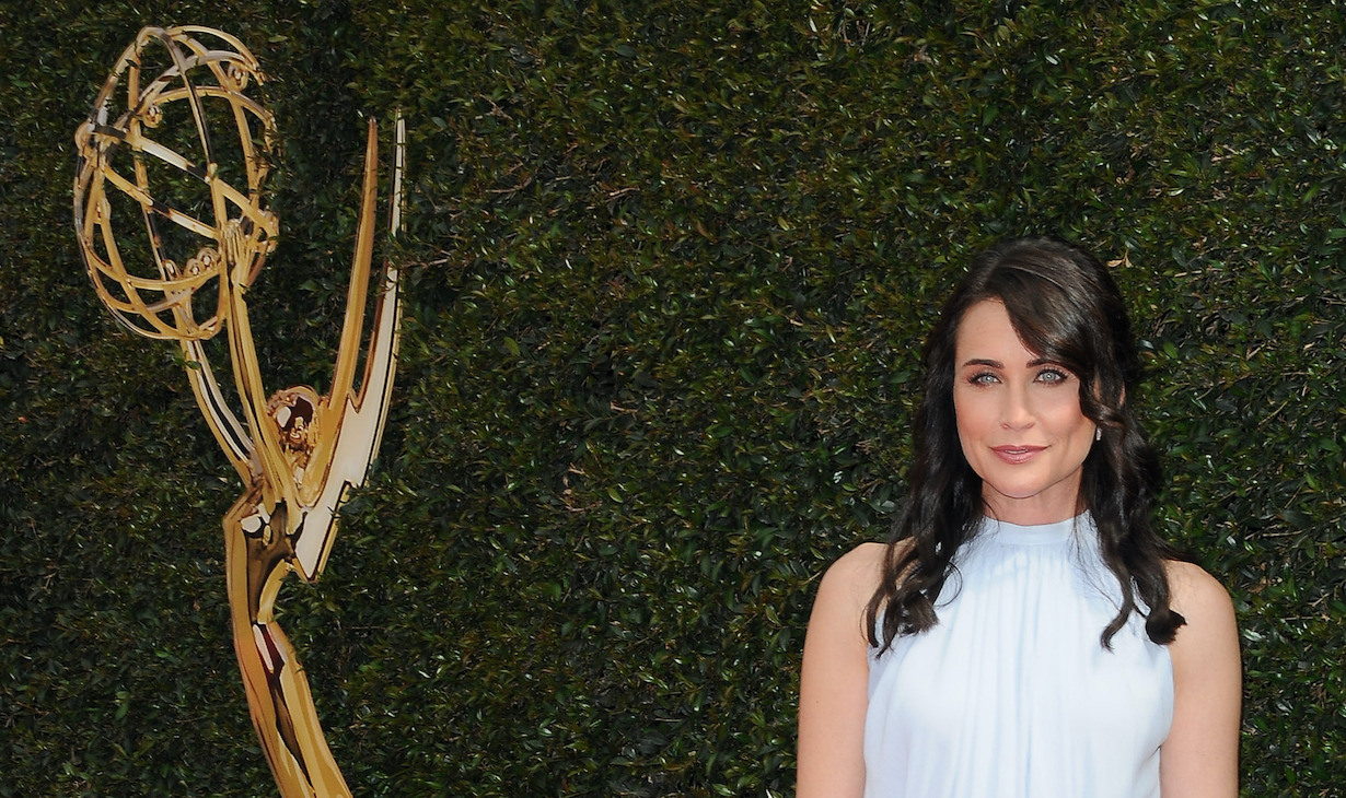 Rena Sofer attends the 45th annual Daytime Emmy Awards Arrivals at Pasadena Civic Auditorium on April 29, 2018 in Pasadena, California © Jill Johnson/jpistudios.com 310-657-9661