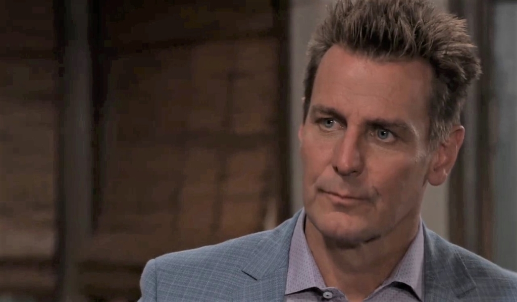 Michael and Jax discuss Nina in guesthouse General Hospital
