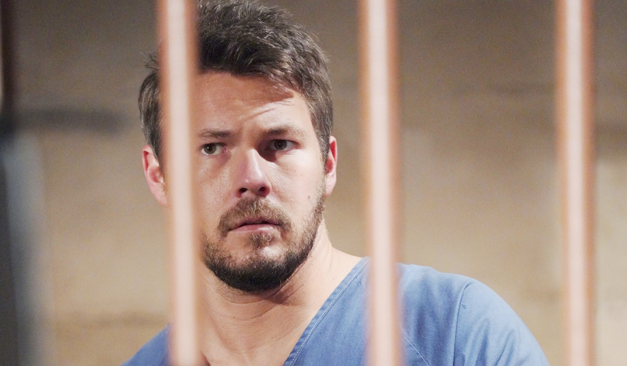 Liam behind bars B&B
