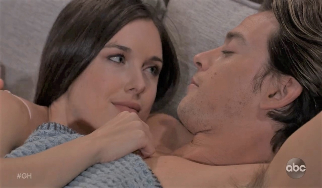 Michael and Willow wake up at guesthosue General Hospital