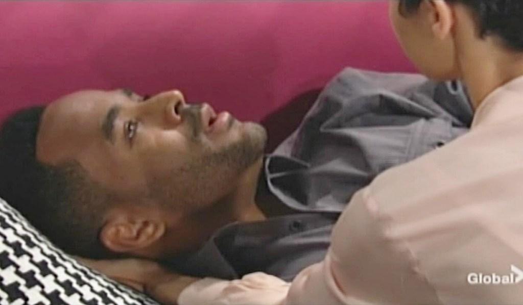 Nate, Elena can't breathe Y&R