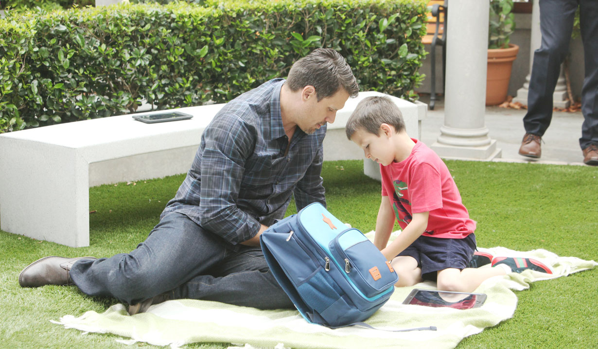 Christian and Nick play on Y&R
