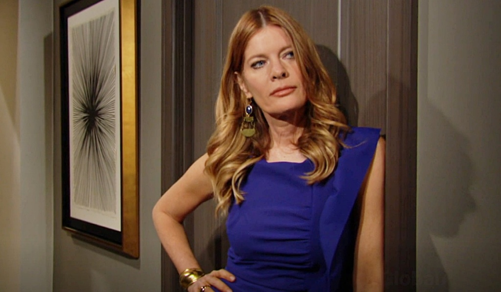 Phyllis outside suite Y&R