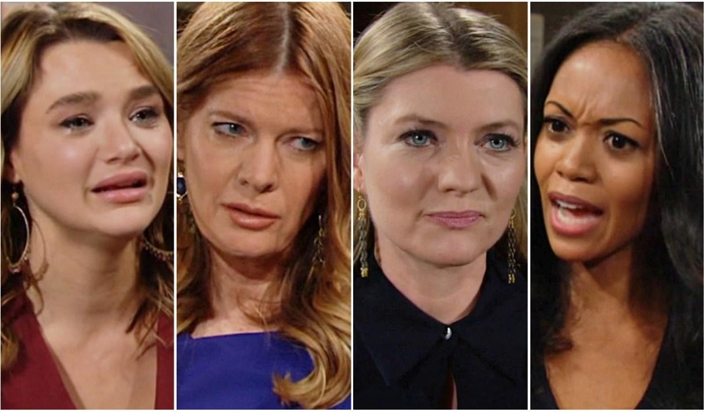 Summer, Phyllis, Tara, Amanda Y&R