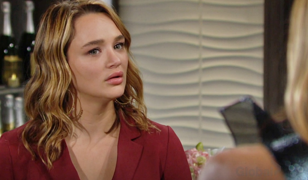 Summer confronted by her parents Y&R
