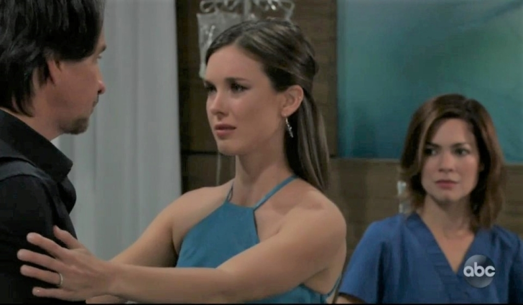 Willow thanks Finn and Liz at General Hospital