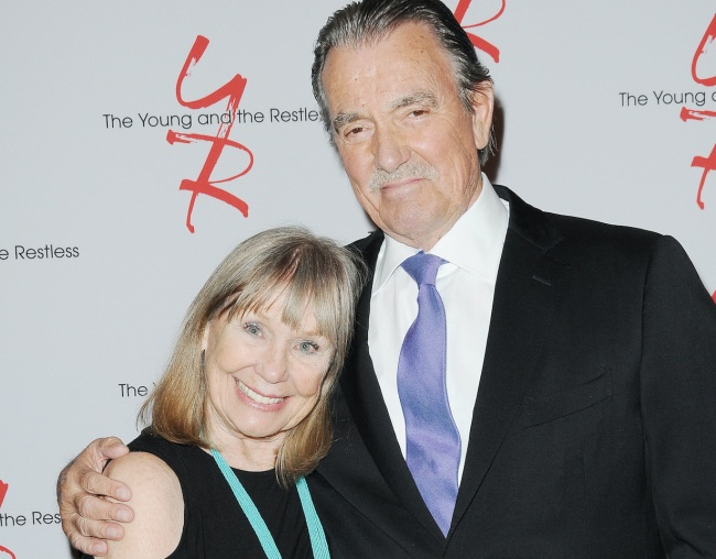 """Eric Braeden, Marla Adams """"The Young and the Restless"""" Set Celebrating 45th Year Anniversary """"Forever Young"""" CBS television City Los Angeles 03/26/18 © Jill Johnson/jpistudios.com 310-657-9661"""