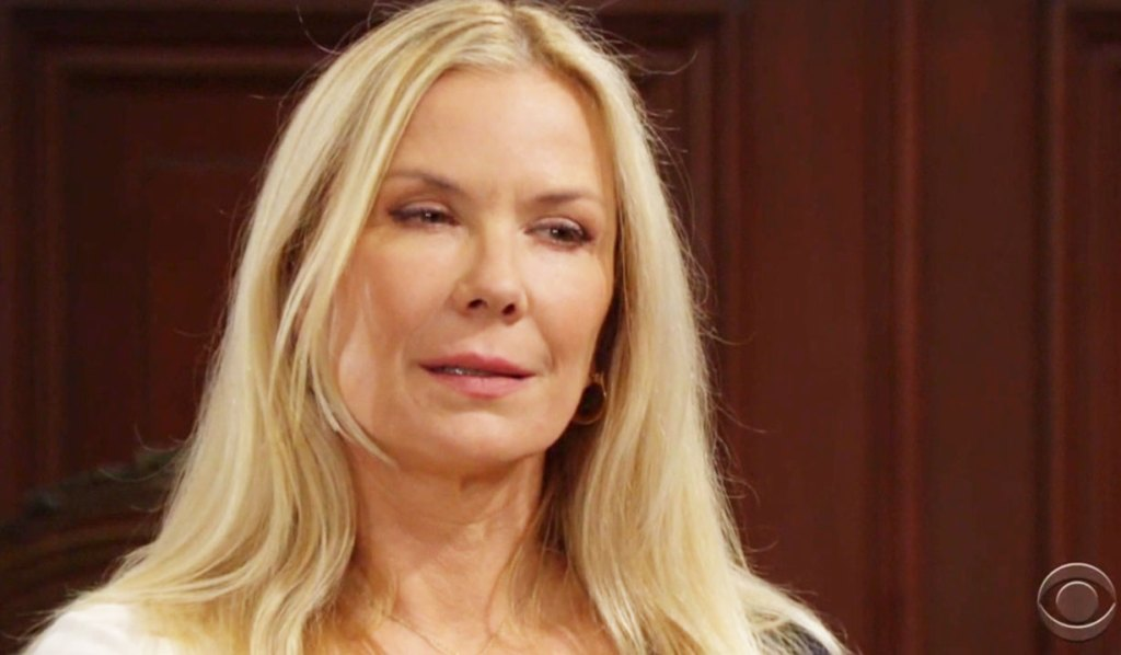 brooke rants that thomas visited liam in jail bb