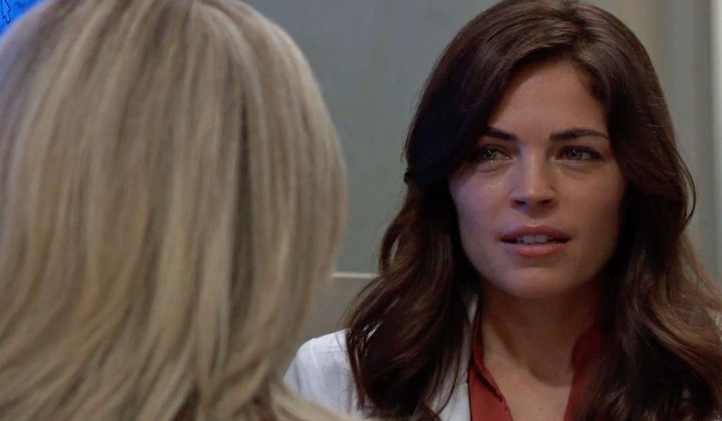 Carly warns Britt about Jason GH