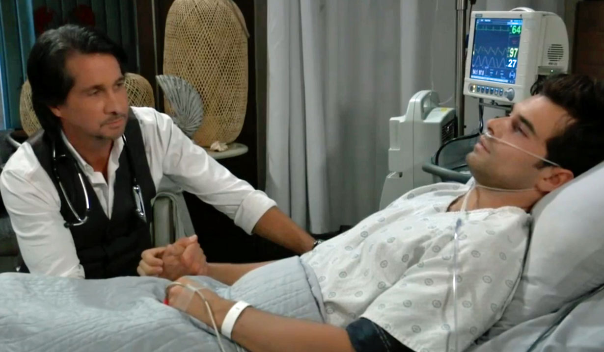 Chase realizes he's going to die GH