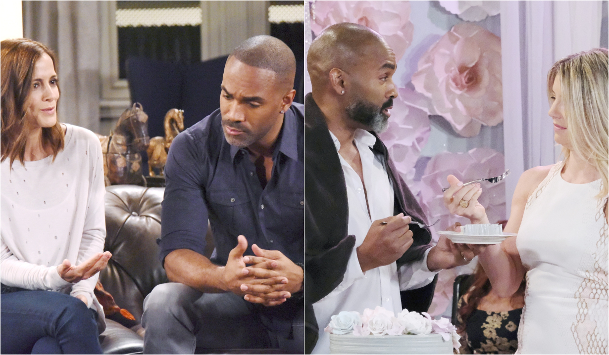 Curtis' friendships with Hayden and Nina on General Hospital
