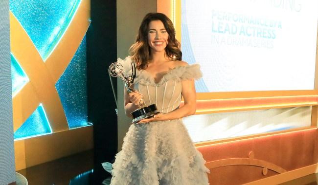 BURBANK - JUN 12: Jacqueline MacInnes Wood at the 48th Daytime Emmy Awards at the ATI studios on June 12, 2021in Burbank, California