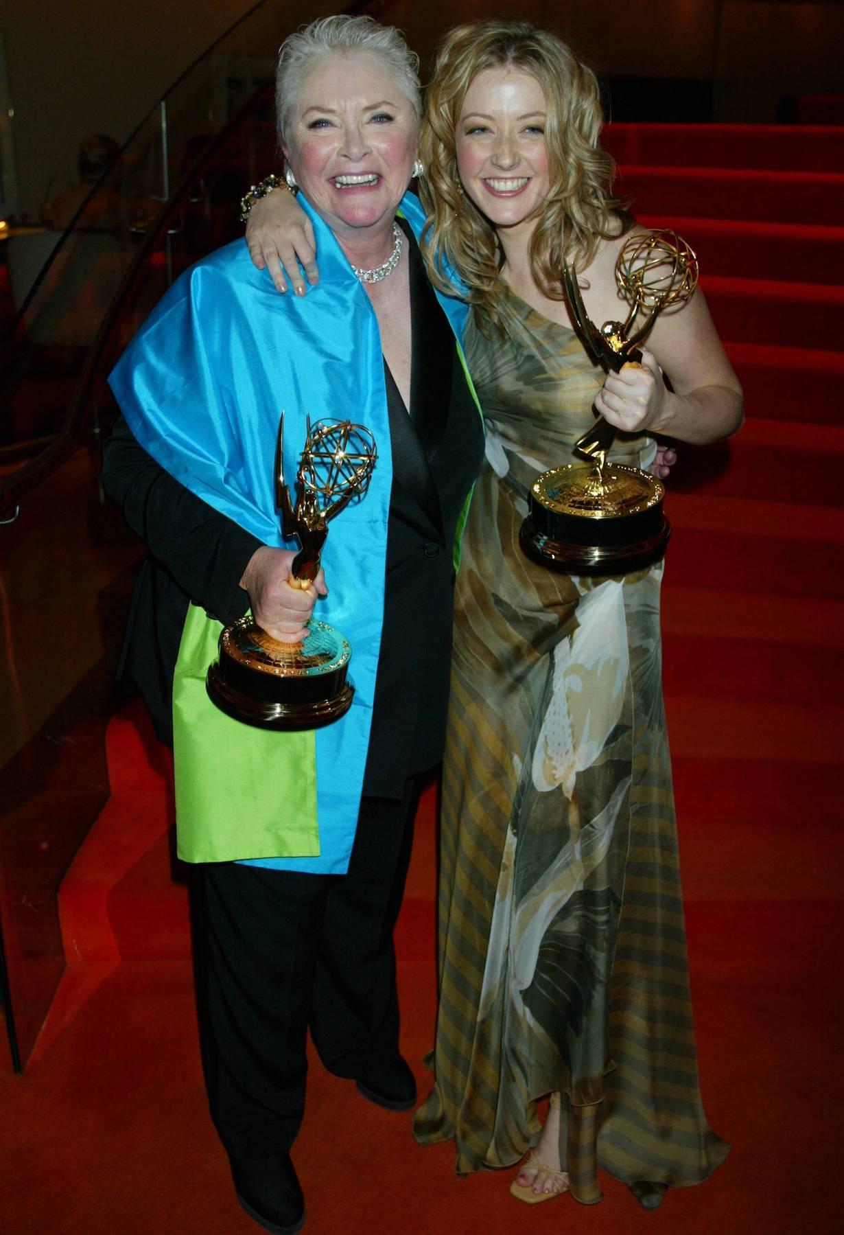 Susan Flannery, Jennifer Finnigan B&B and Y&R Post Emmy Party New York 4/16/03 ©John Paschal/JPI 310-657-9661