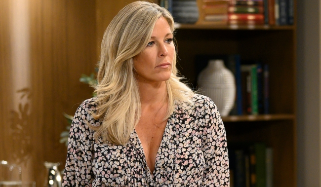 """GENERAL HOSPITAL - Laura Wright (Carly) in scenes that air the week of June 10, 2019 on ABC's """"General Hospital."""" General Hospital airs Monday-Friday, 3-4pm, ET on ABC. GH19(Walt Disney Television/Todd Wawrychuk) LAURA WRIGHT"""