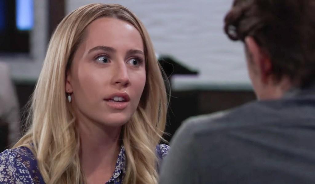 Joss wonders about Nina GH