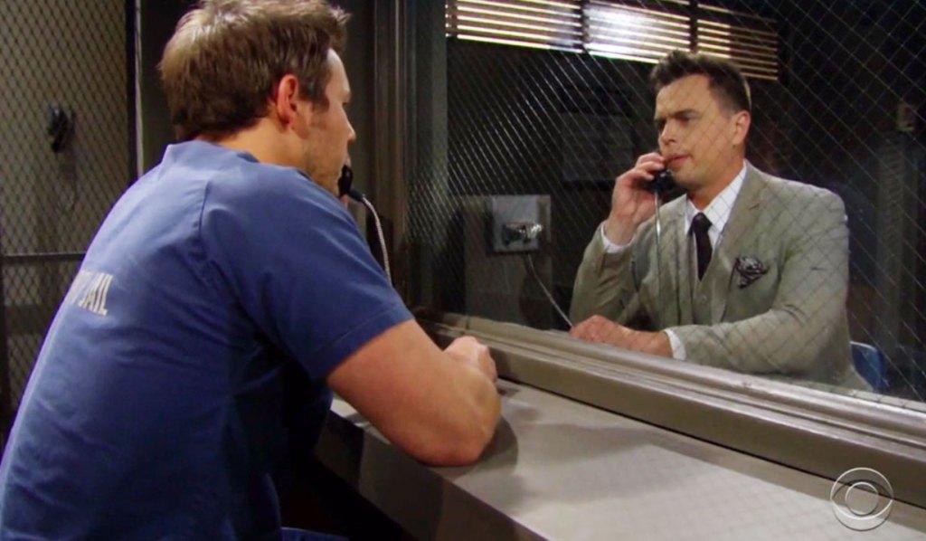liam talks to wyatt at the jail bb