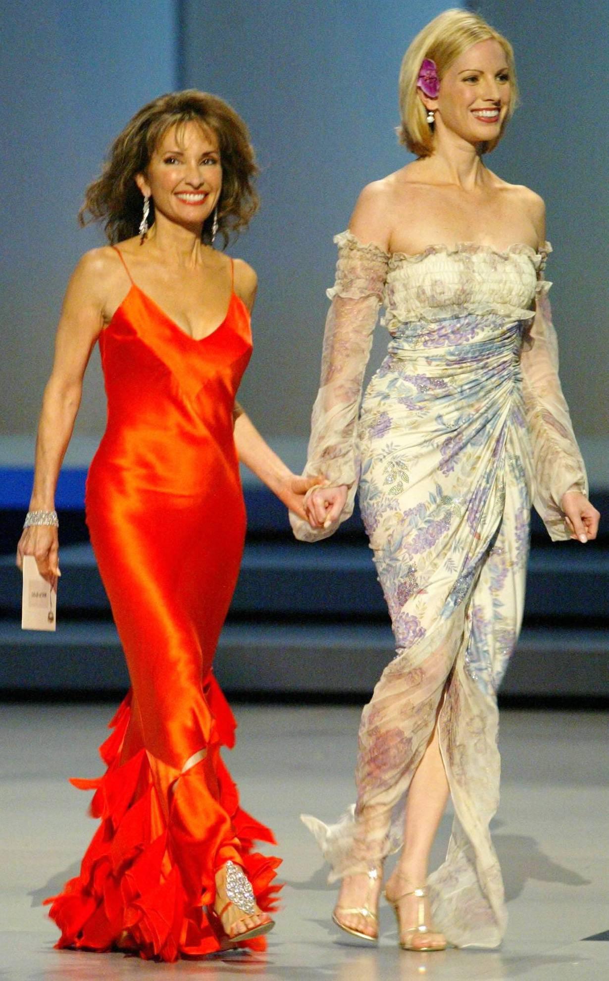 Susan Lucci and Liza Huber 31st Annual Daytime Emmy Awards Radio City Music Hall New York 5/21/04 ©John Paschal/jpistudios.com 310-657-9661
