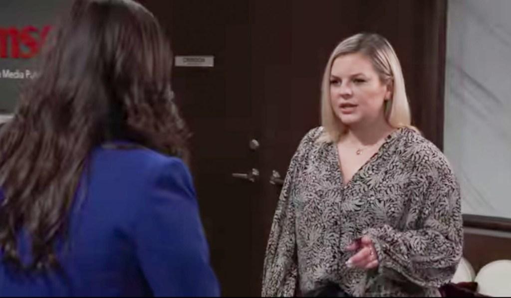 Maxie talks to Brook Lynn GH