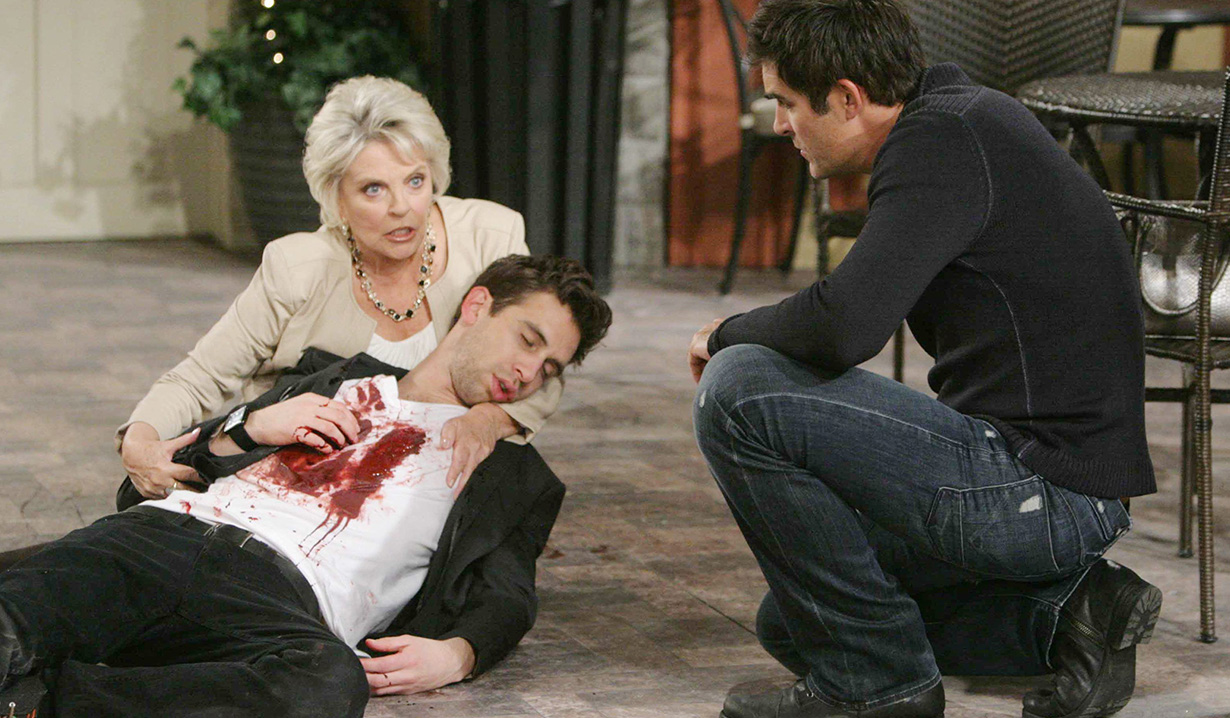 """Susan Seaforth Hayes, Blake Berris, Galen Gering """"Days of our Lives"""""""