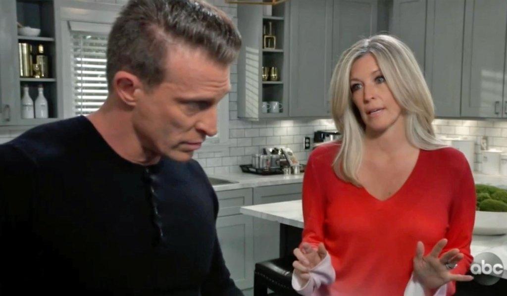 Carly pries into Jason's life GH