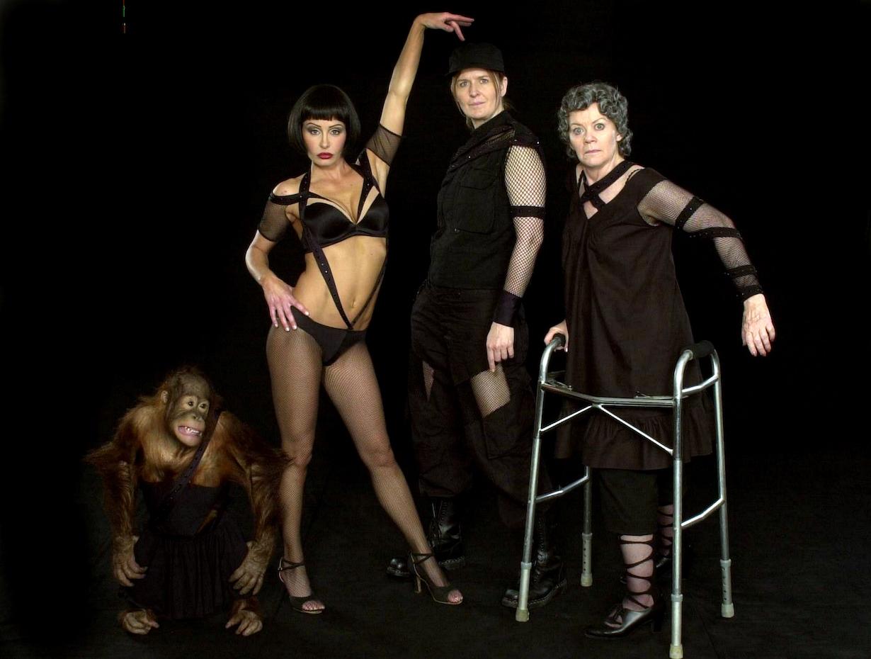 "Kathleen Noone, Kelli McCarty, BamBam and Jordan Baker""Passions"" SetRadford Studios5/20/03©Doug Pieburn/JPI310-657-9661"