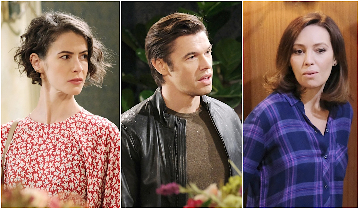 Potential Sarah, Xander, Gwen triangle on Days of Our Lives