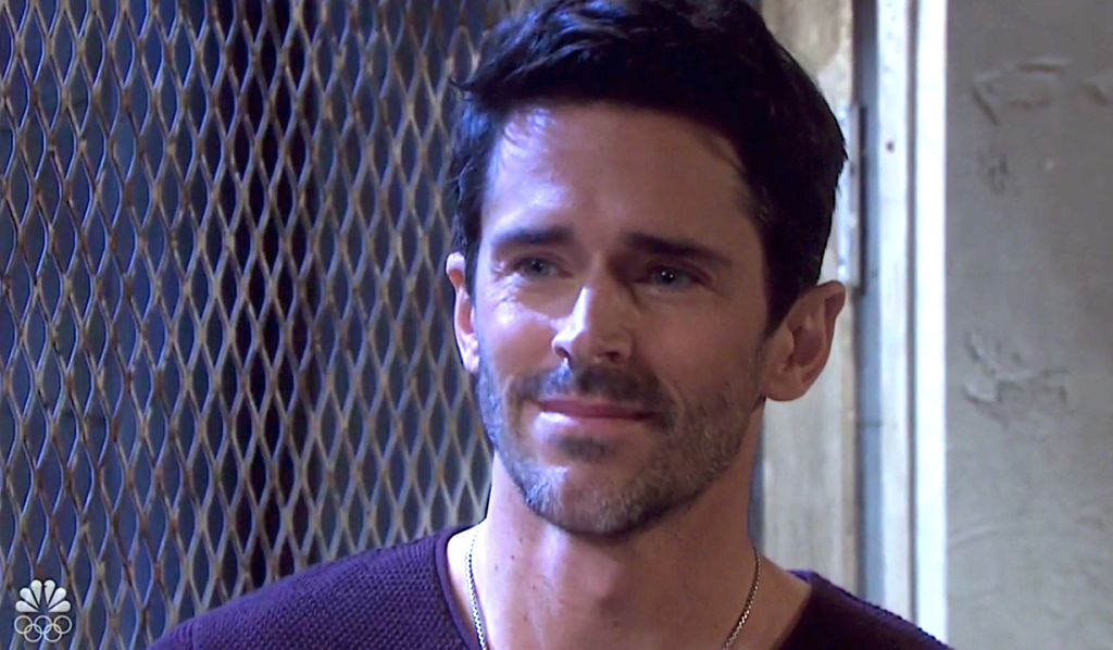 Shawn beams on Days of Our Lives