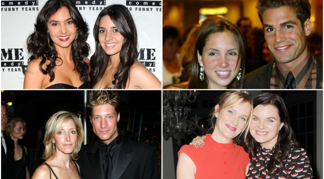 soap opera actors and their sisters bb, gh, days, yr