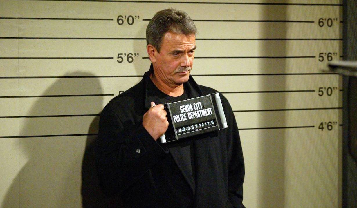 Victor arrested on The Young and the Restless