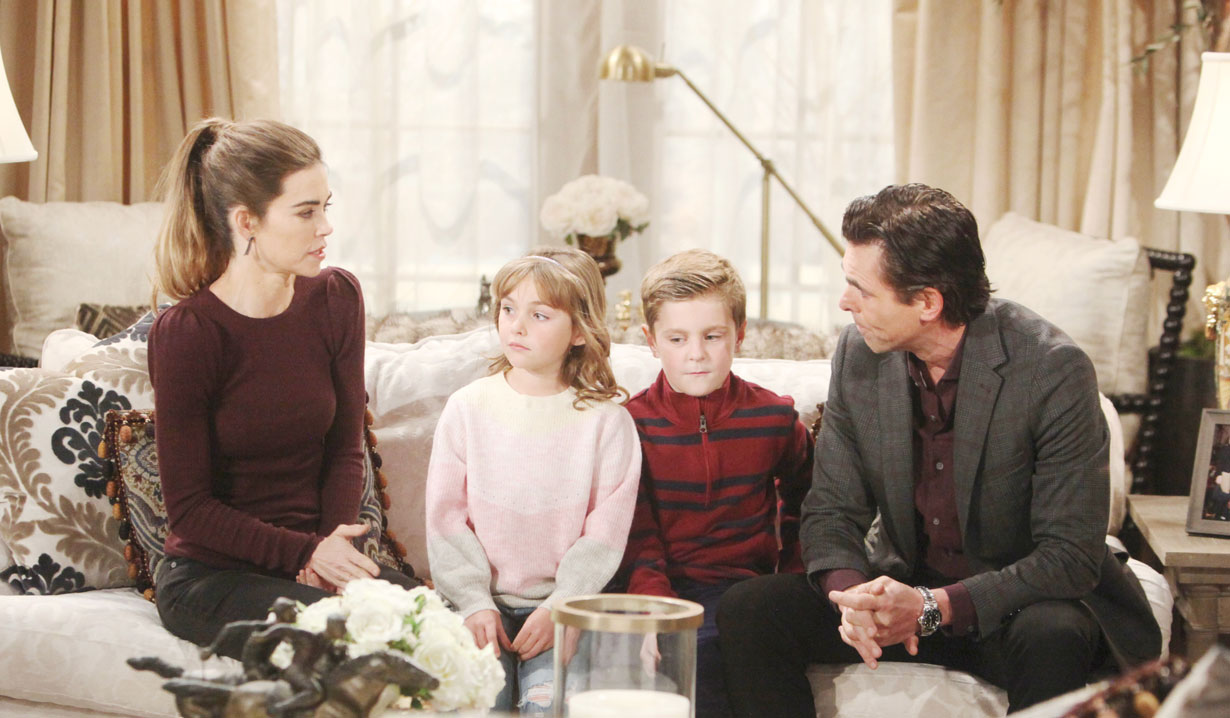 Billy and Victoria's family on Y&R
