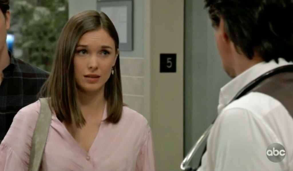 Willow questions Finn about Chase GH